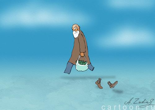 Карикатура: Не по пути, Александр Зудин