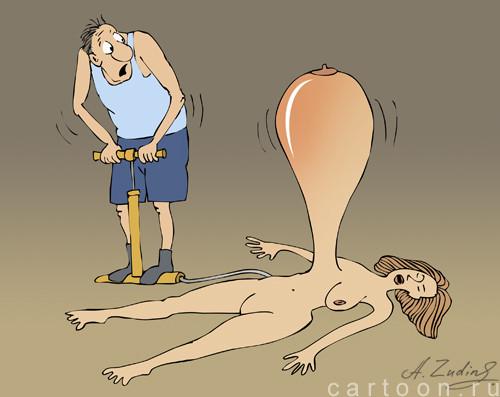 Карикатура: Вдул так вдул, Александр Зудин