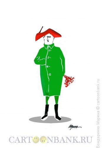 Карикатура: Наполеон и праздник 8 марта, Бондаренко Марина