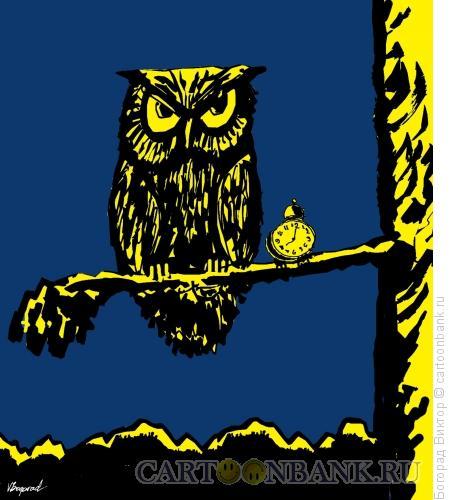 Карикатура: Ночной дозор, Богорад Виктор