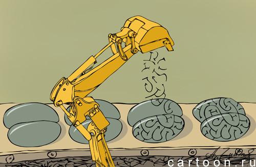 Карикатура: Искусственный интелект, Александр Зудин