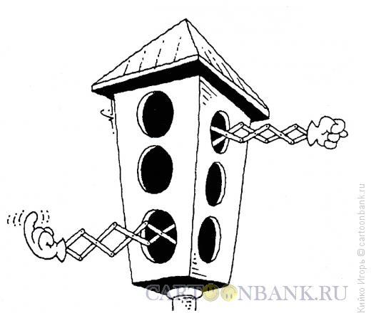 Карикатура: Механический светофор, Кийко Игорь