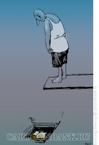 Карикатура: Прыжок в кровать, Богорад Виктор