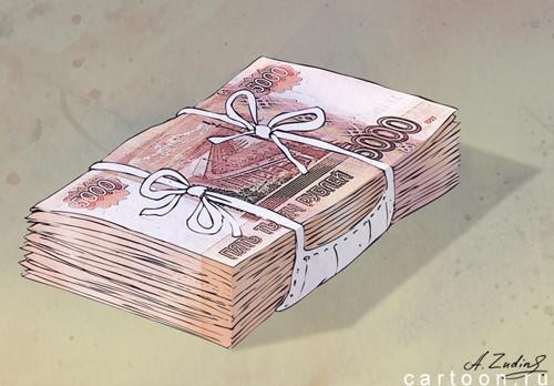 Карикатура: Маскбанк, Александр Зудин
