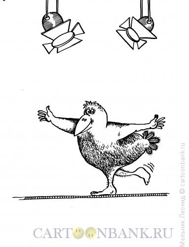 Карикатура: Цирк да и только!, Мельник Леонид