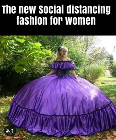 Мем: Актуальная социально дистанцирующая мода для девочек ツ, Michael_Angel