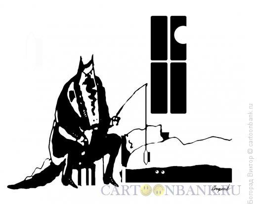 Карикатура: Ночной страх, Богорад Виктор