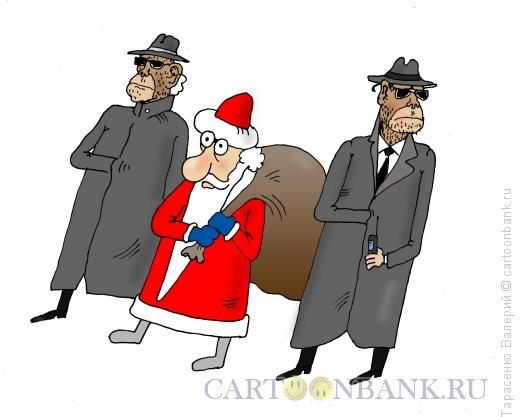 Карикатура: Эскорт, Тарасенко Валерий