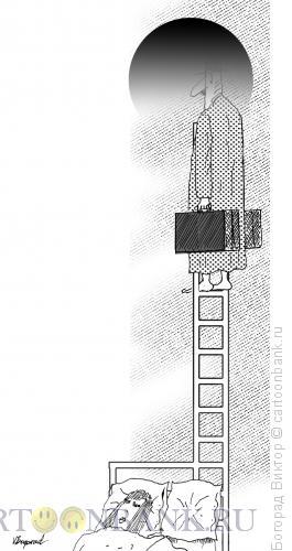 Карикатура: Побег во сне, Богорад Виктор