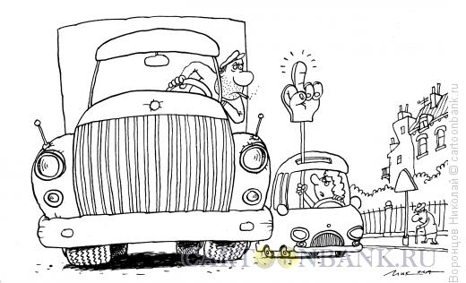 Карикатура: Автоледи, Воронцов Николай