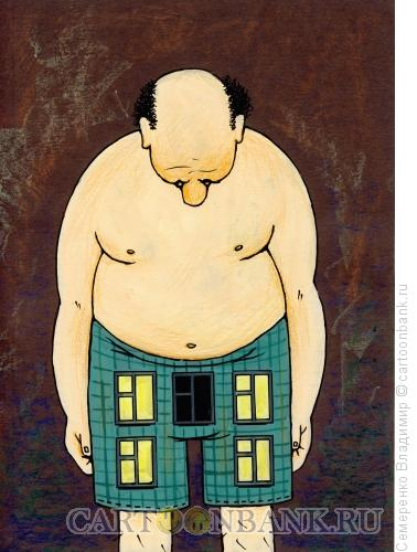Карикатура: Когда выключен свет..., Семеренко Владимир