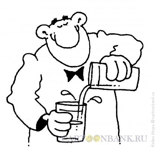Карикатура: Гороскоп - знак Зодиака Водолей, Кийко Игорь