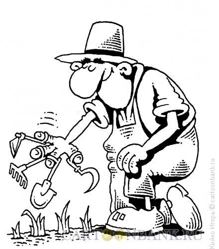 Карикатура: Фермер-лайт, Кийко Игорь