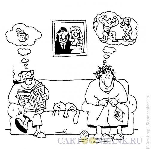 Карикатура: Кто о чем, Кийко Игорь