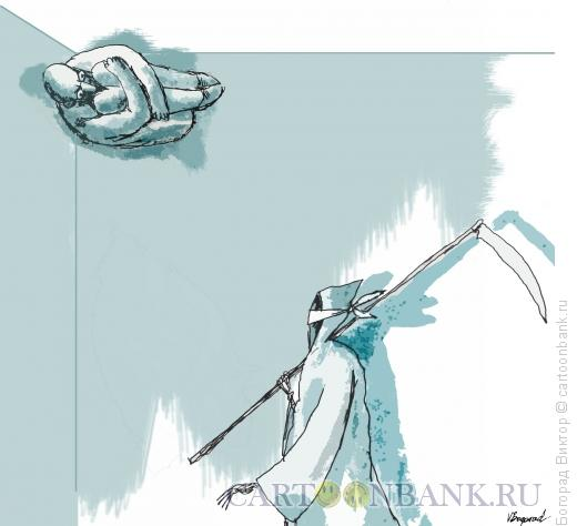 Карикатура: Прятки, Богорад Виктор