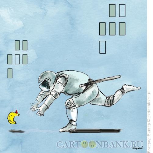 Карикатура: Ловля символа коррупции, Богорад Виктор