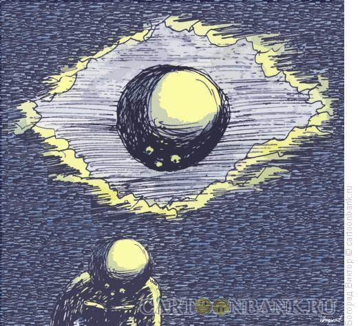 Карикатура: Ночное чтение, Богорад Виктор
