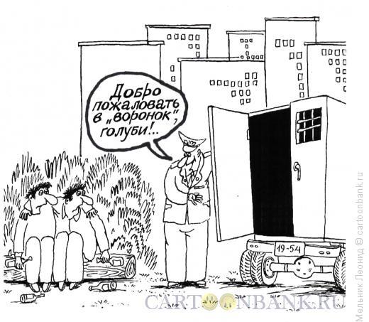 Карикатура: Птички, Мельник Леонид