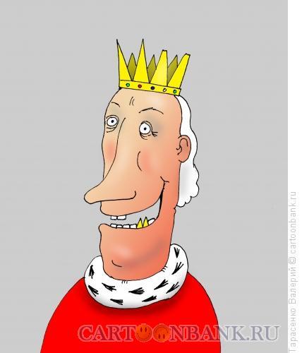 Карикатура: Коронация, Тарасенко Валерий