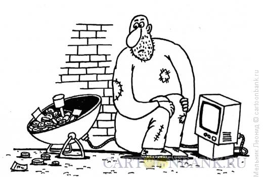 Карикатура: Набросали, Мельник Леонид
