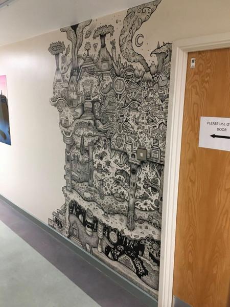 Мем: Настенный рисунок умалишенного в клинике больницы., Гексоген
