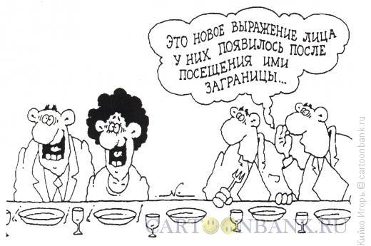 Карикатура: Новое выражение, Кийко Игорь