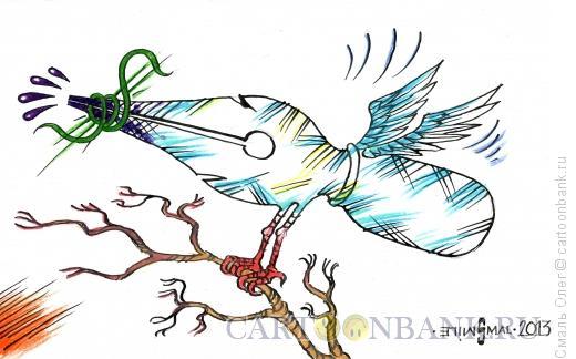 Карикатура: Свобода слова, Смаль Олег