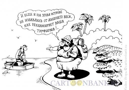 Карикатура: Надежная фирма, Кийко Игорь