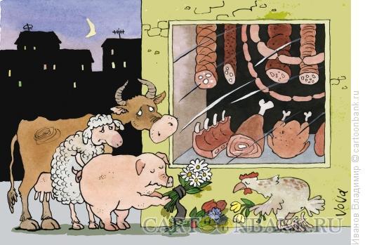 Карикатура: Помним и скорбим, Иванов Владимир