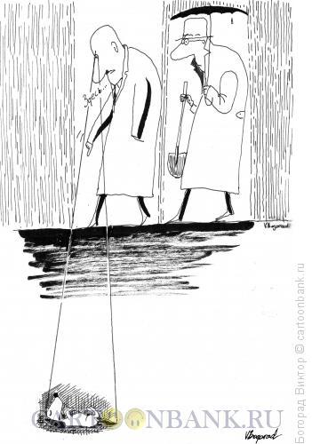 Карикатура: Экстрасенс, Богорад Виктор