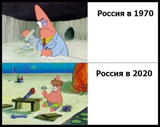 Мем: Эволюция России