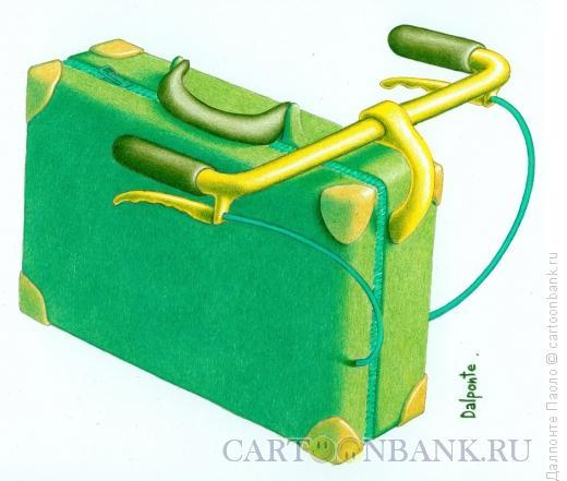 Карикатура: хлорофиловый путешественник, Далпонте Паоло