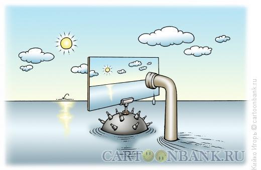 Карикатура: Военная хитрость, Кийко Игорь