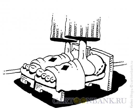 Карикатура: Тапочки, Кийко Игорь