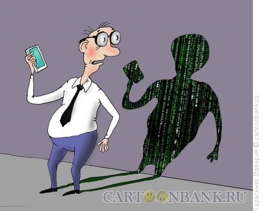 Карикатура: Матрица, Тарасенко Валерий