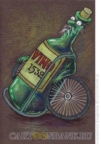 Карикатура: Старое вино, Семеренко Владимир