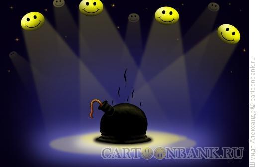 Карикатура: Антитеррор-3, Шмидт Александр