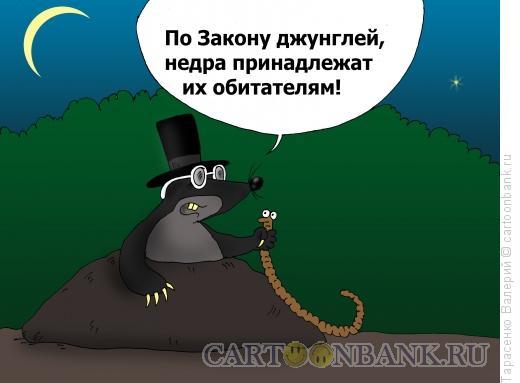 Карикатура: Закон джунглей, Тарасенко Валерий