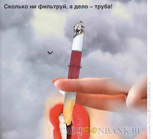 Карикатура: Дело - труба., Шинкар Игорь