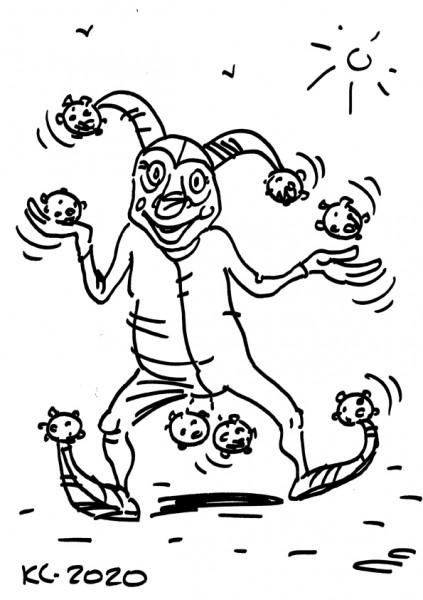 Карикатура: Короношут, Вячеслав Капрельянц