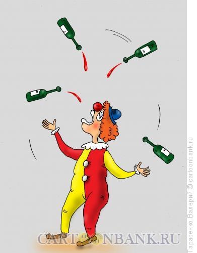 Карикатура: Искусство пития, Тарасенко Валерий
