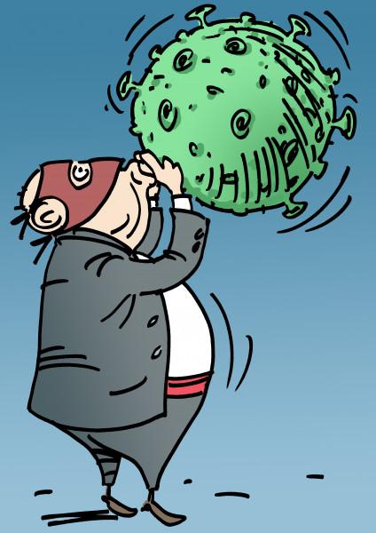 Карикатура: Надувательство, Вячеслав Капрельянц