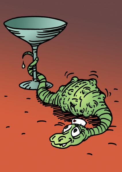 Карикатура: Ну вот и все, Вячеслав Капрельянц
