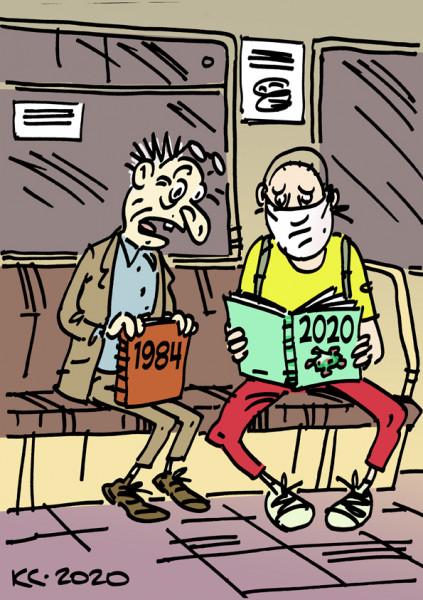 Карикатура: Ужас-ужас!, Вячеслав Капрельянц