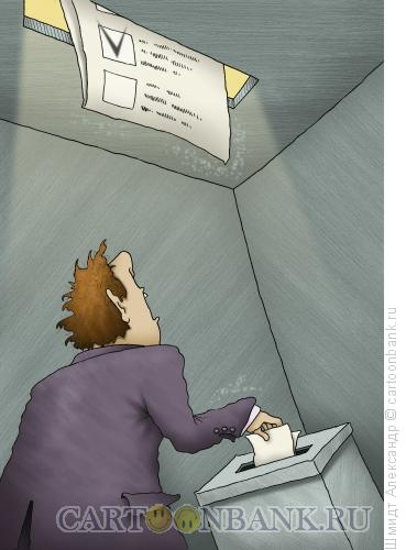 Карикатура: Внутри избирательного процесса, Шмидт Александр