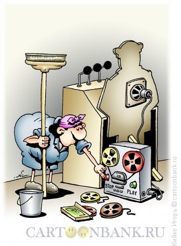 Карикатура: Речь закончена, Кийко Игорь