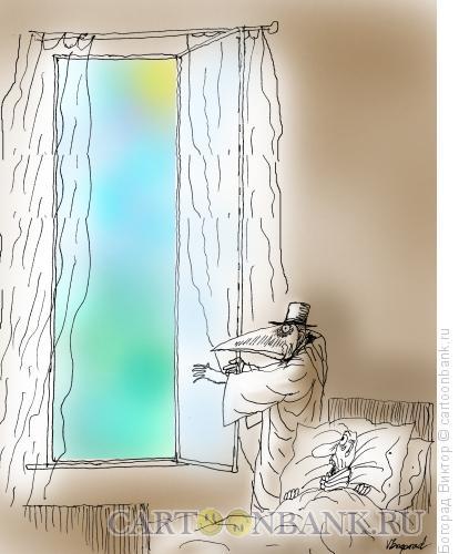 Карикатура: Весна, грачи прилетели, Богорад Виктор