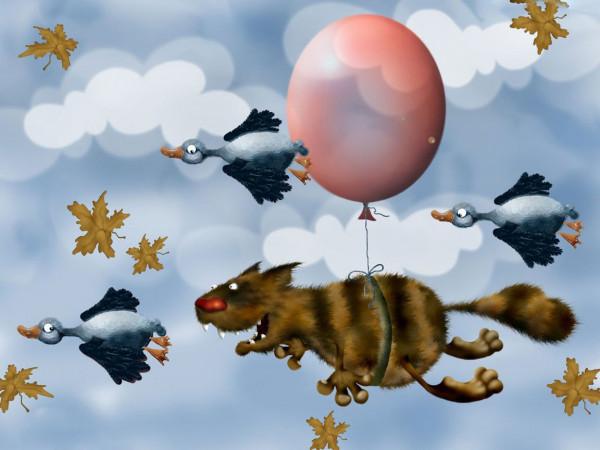 Мем: Одним жизнь даёт крылья,а другим - пенделя... И вроде бы все летят...а какие разные перспективы и ощущения!))