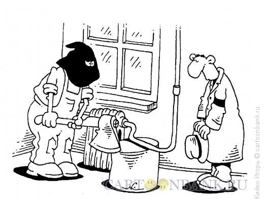 Карикатура: Палач из жэка, Кийко Игорь