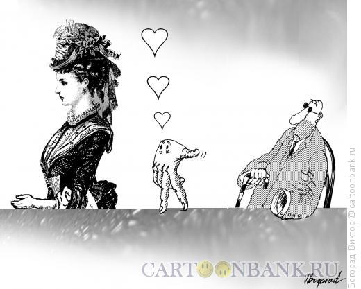 Карикатура: Флирт, Богорад Виктор